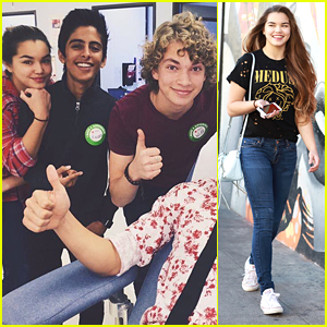 Paris Berelc Lends Support to Invisible Sister Co-star Will Meyers' Blood Drive