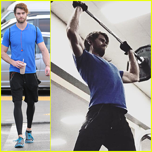Pierson Fode Hits The Gym After The Holidays