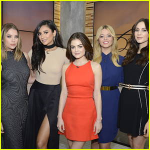 The 'Pretty Little Liars' Cast Wraps Up Promo in NYC on 'Good Morning America'