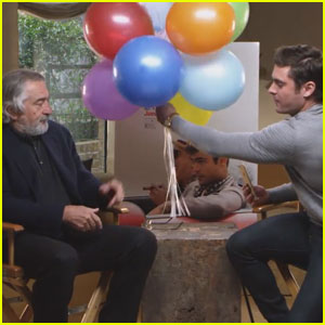 Zac Efron Asks Robert De Niro to Wish Sami Miro a Happy Birthday - Watch Now!