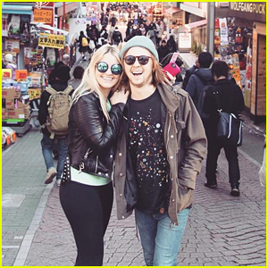 Rydel Lynch & Ellington Ratliff Say Goodbye To Japan With Cute Instagrams