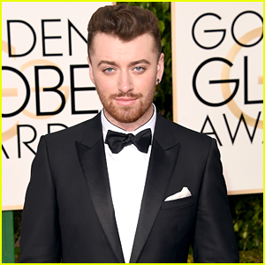 Sam Smith Suits Up For Golden Globes 2016