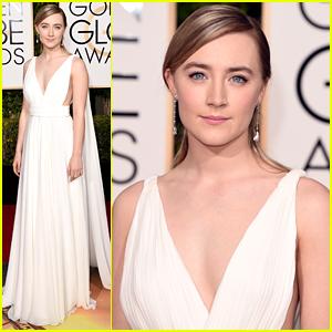 Saoirse Ronan Oozes Elegance At Golden Globes 2016