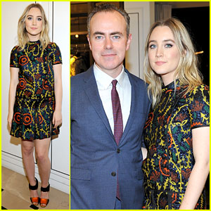 Saoirse Ronan Honored by Burberry With 'Brooklyn' Filmmakers