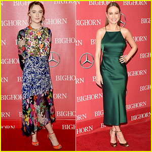 Saoirse Ronan & Brie Larson Receive Awards at Palm Springs Gala