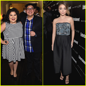 Raini Rodriguez Celebrates SAG Awards With Brother Rico at EW's Party