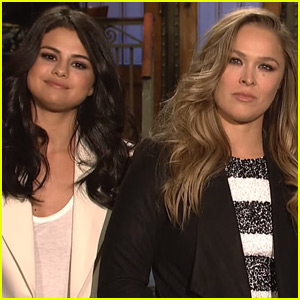 Selena Gomez Brings Some Girl Power to 'SNL' - Watch Now!