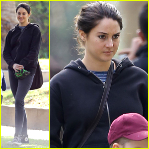 Shailene Woodley Plays Catch With On-Screen Son for 'Big Little Lies'