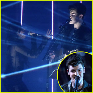 Shawn Mendes Brings Camila Cabello Out for Duet at PCAs 2016 - Watch Now!