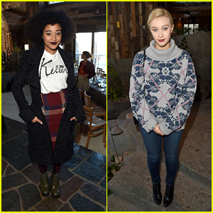 Amandla Stenberg & Sarah Gadon Toast Trailblazing Women at Glamour's Women Rewriting Hollywood Lunch