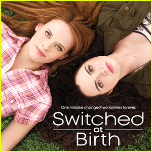 Vanessa Marano & Katie Leclerc Recreate 'Switched At Birth' Poster