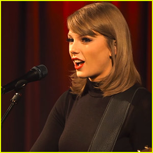 Taylor Swift Explains 'Blank Space' Inspiration, Performs Awesome Acoustic Version (Video)