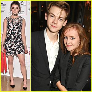 Thomas Brodie-Sangster Brings Girlfriend Isabella Melling to London Critics' Circle Film Awards