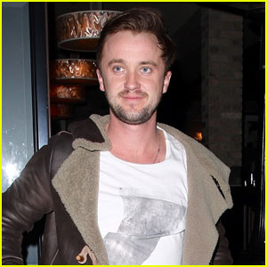Tom Felton Shares Hot Shirtless Selfie in Memory of His Dog Timber