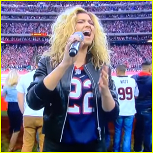 Tori Kelly Blows Everyone Away With National Anthem at Chiefs VS Texans Football Game