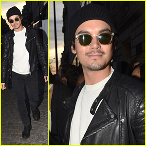 Tyler Blackburn Gives Shoutout To Parisian Fans Before Heading Home
