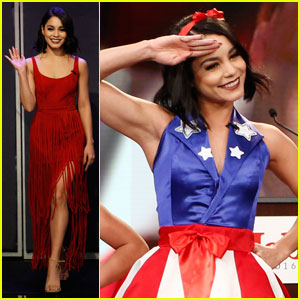 Vanessa Hudgens Does a Spot-On Impression of Grease's Didi Conn - Watch Now!
