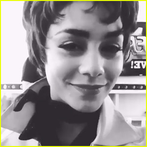 Vanessa Hudgens Posts Video Before 'Grease: Live' - Watch Now!