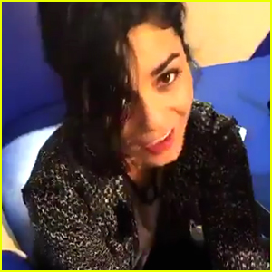Vanessa Hudgens Sings 'Say Ok' For Keke Palmer - Watch Here!