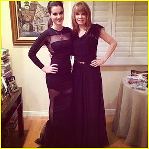 Vanessa Marano: Golden Globes Party Dress Sneak Peek!
