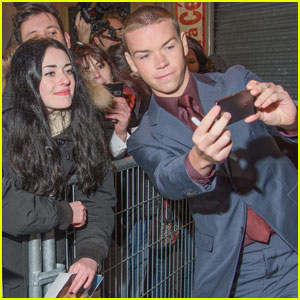 Will Poulter is Super Fan Friendly at 'The Revenant' Paris Premiere!