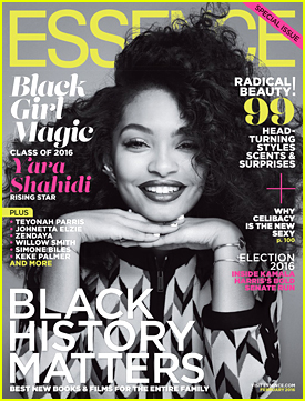 Yara Shahidi Shares Gorgeous 'Essence' Magazine Cover For February 2016