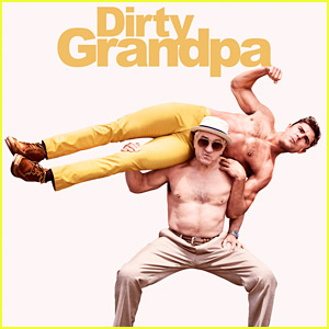 Zac Efron Goes Shirtless for New 'Dirty Grandpa' Poster!