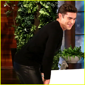 Zac Efron Shows Off 'Dirty' Moves During Heads Up with Ellen DeGeneres!