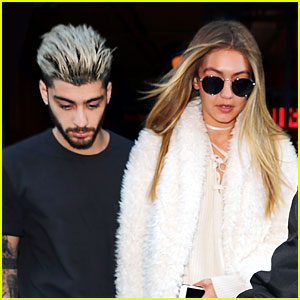 Zayn Malik Holds Hands With Gigi Hadid After His Grandmother's Death