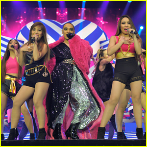 4th Impact Perform With Seann Miley Moore on 'X Factor' Live Tour in Birmingham (PICS)