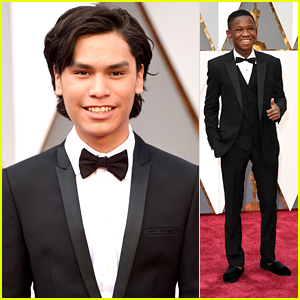 Abraham Attah & Forrest Goodluck Look Good In Tuxes For Oscars 2016
