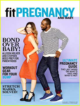 Allison Holker Shows Off Growing Baby Bump On 'Fit Pregnancy's March 2016 Cover