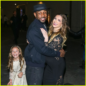 Allison Holker & Stephen 'tWitch' Boss's Daughter, Weslie, Photobombs Them In The Cutest Way