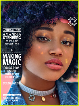 Amandla Stenberg Covers 'ASOS' Mag; Talks Social Justice Activism & 'Black Lives Matter'