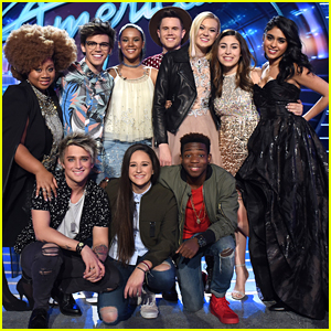 Tristan McIntosh & Olivia Rox Celebrate 'American Idol' Top 10 In Hollywood