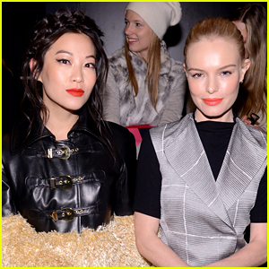 Arden Cho Meets Up with Kate Bosworth During NYFW 2016