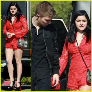 Ariel Winter & Laurent Claude Gaudette Spend Valentine's Day Together