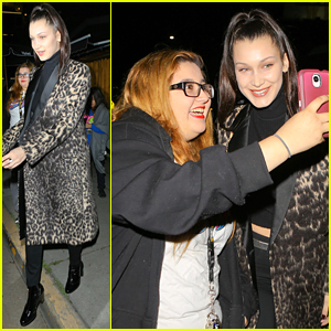 Bella Hadid Snaps Pics with Fans After Night Out in LA