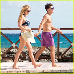 Bella Thorne & Gregg Sulkin Celebrate Valentine's Day Together in Mexico