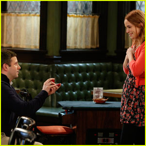 Bridgit Mendler Shows Off Red Hair as Candace & Justin Get Engaged on 'Undateable' (Video)