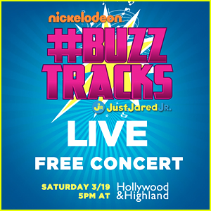 JJJ Presents Nickelodeon's #BuzzTracks Live Concert This Weekend!