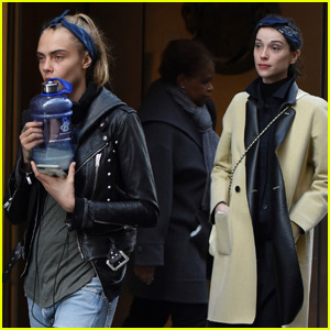 Cara Delevingne & St. Vincent Spend a Romantic Afternoon in Paris