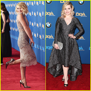 Chelsea Kane & Abigail Breslin Glam Up DGA Awards 2016