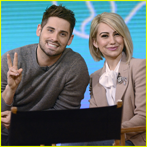 Chelsea Kane & Jean-Luc Bilodeau Promote 'Baby Daddy' On GMA