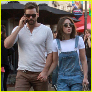 Chloe Bennet & Boyfriend Austin Nichols Spend Valentine's Day Shopping