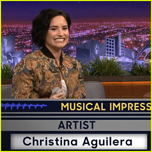 Demi Lovato Kills It During 'Wheel of Musical Impressions' with Jimmy Fallon!