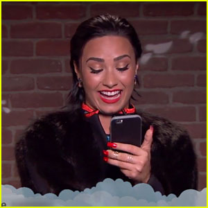 One Direction & Demi Lovato Read  'Mean Tweets' About Themselves' - Watch Now!