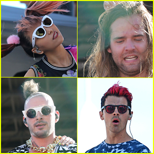 Joe Jonas & DNCE Perform for Models on South Beach!