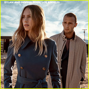 Dylan Penn Stars in 'Fay' Campaign with Brother Hopper!