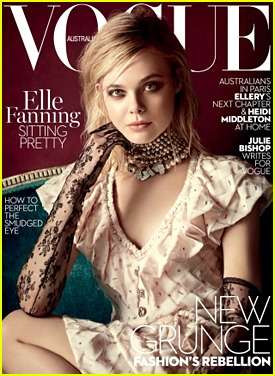 Elle Fanning Nabs Vogue Australia's March 2016 Cover - See It Here!
